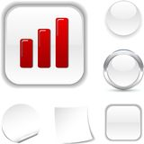 Graph  icon. Stock Photos