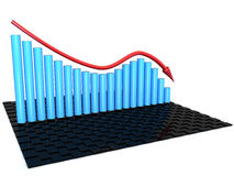 """The graph of incidence â""""–1 royalty free illustration"""