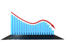 The graph of incidence №2 Royalty Free Stock Photos