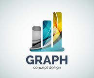 Graph logo template Stock Images
