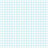 Graph, millimeter paper. Seamless vector, real scale Royalty Free Stock Image