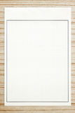Graph paper. On wood background Stock Photos