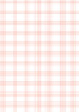 Graph paper a4 sheet red Royalty Free Stock Photo