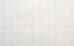 Graph Paper Background Royalty Free Stock Photography