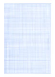 Graph paper background - blue color. Hi-res blank graph paper squares pattern background royalty free stock photos