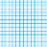Graph paper cyan color, seamless pattern Royalty Free Stock Photography
