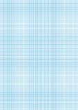 Graph paper cyan color on a4 sheet size Royalty Free Stock Image