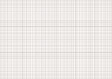 Graph paper. A4 sheet with millimeter grid Royalty Free Stock Image