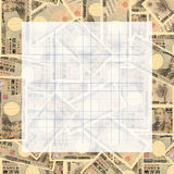 Graph paper on Japanese Yen Royalty Free Stock Photo