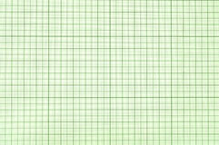 Graph paper square. Old green graph paper square grid background Stock Photos