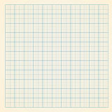 Graph paper. Vector millimeter engineering paper background Royalty Free Stock Photos