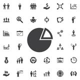 Graph pie icon. Business icons set Royalty Free Stock Photo