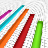 Graph Report Indicates Graphs Profit And Data Royalty Free Stock Photo
