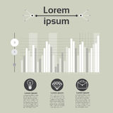 Graph Set Finance Diagram Infographic Icon Financial Business Chart Stock Photography
