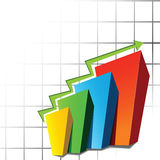 Graph sheet Stock Images