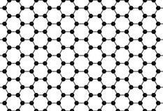 Graphene纹理 免版税库存照片