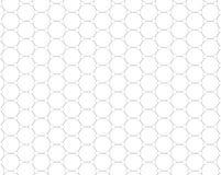 Graphene δομή που απομονώνεται μοριακή στο λευκό διανυσματική απεικόνιση