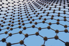 Graphene Obrazy Royalty Free