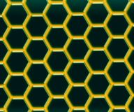 Graphene - 2D material - Metamaterials royaltyfri illustrationer