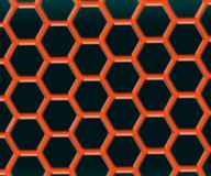 Graphene - 2D material - Metamaterials vektor illustrationer