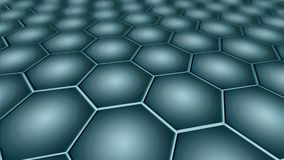 Graphene - 2D Materialen - Metamaterials vector illustratie