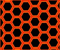 Graphene - 2D materiali - Metamaterials Immagini Stock