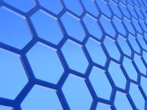 Graphene lager Arkivfoto