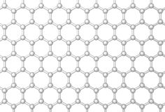Graphene layer Royalty Free Stock Photo