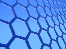 Graphene layer Stock Photo
