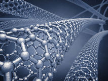Graphene nanotubes Stock Photography
