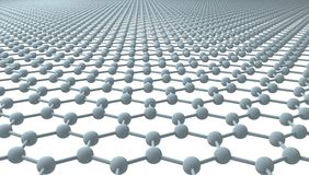 Graphene (Transparent Background) Royalty Free Stock Photo