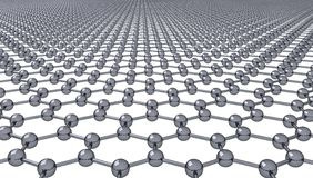 Graphene (Transparent Background) Royalty Free Stock Image