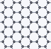 Graphene Seamless Pattern. Vector Stock Photo