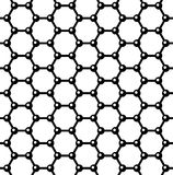 Graphene Seamless Pattern. Vector Royalty Free Stock Images