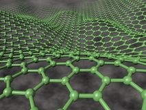 Graphene Waves Royalty Free Stock Photo