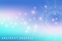 Graphic abstract background communication. Big data complex. Royalty Free Stock Photo
