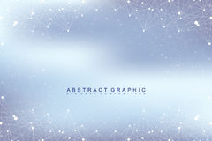 Graphic abstract background communication. Big data visualization.   Stock Images