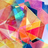 Graphic abstract background Stock Image