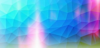 Graphic  background blue magic Stock Image