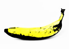 Graphic banana Royalty Free Stock Photos