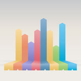 Graphic Bars Banner Background Royalty Free Stock Images