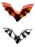 Graphic Bat illustration Royalty Free Stock Photo