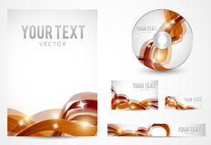 Graphic Business Layout Stock Photo