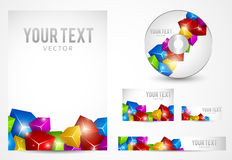 Graphic Business Layout Royalty Free Stock Images