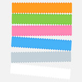 Graphic color bar Royalty Free Stock Photos