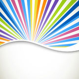 Graphic design. Illustration of an Abstract Colorful Background Stock Image