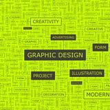 GRAPHIC DESIGN Image libre de droits