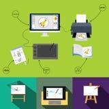 Graphic design Photographie stock libre de droits