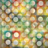 Graphic design background circles Stock Images