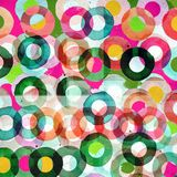 Graphic design background with circles Royalty Free Stock Images